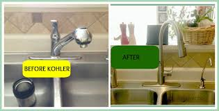 Kohler Kitchen Faucet Leaking Simplice Faucet Install The Kitchen Faucet With The Bold Look Of