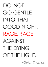 favorite poem of all time do not go gentle into that good night   do not go gentle into that good night