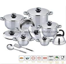 China High Quality 18PCS <b>Mirror Polishing Stainless Steel</b> Ghana ...