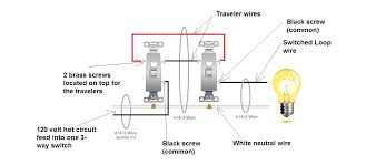wiring diagram for single pole dimmer switch wiring diagram and 3 way circuit wiring diagram how to wire a three way switch the family handyman