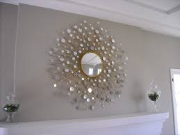 ideas tips starburst mirror with metal silver for wall decor in