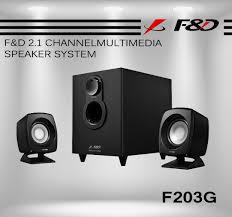 F&D T-388 2.1 TV Soundbar with Wireless Subwoofer