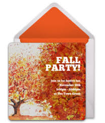 Fall Invitation Free Fall Themed Online Invitations Punchbowl