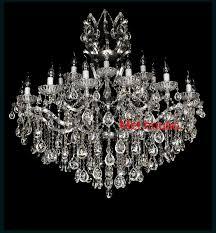 modern crystal chandelier light chrome