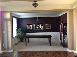 Just painted my dining room dark eggplant!