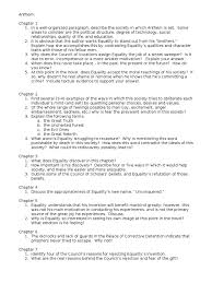 anthem essay outline quiz worksheet anthem chapter summary  anthem essay examples page 1 zoom in grade your essay by