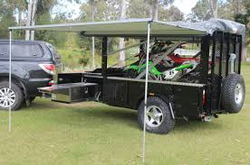 Camper Trailer Kitchen Motorbike Camper Trailer Mx Campers