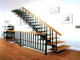 metal stair handrail. Plain Metal Black Metal Stair Railing Iron Cost Stairs Marvelous Wrought Step Handrail  And Cable Far Fetched In Metal Stair Handrail R