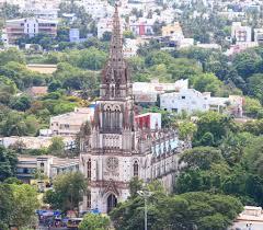 Our Lady of Lourdes Church, Tiruchirappalli,trichy tamil nadu in – Stock  Editorial Photo © awesomeaki #62312597