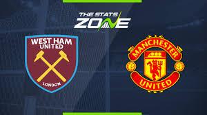 Manchester united vs west ham united. 2019 20 Premier League West Ham Vs Man Utd Preview Prediction The Stats Zone