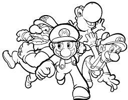 Disegni Da Colorare Di Super Mario Az Colorare