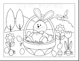 Free Printable Coloring Pages Bunny Picture Happy Pictures Online Of