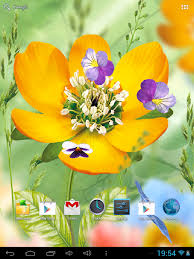 free flowers live wallpaper