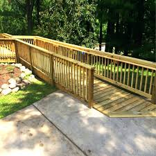 wooden wheel chair ramps wooden wheelchair ramps wood handicap ramps for homes