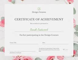 Achievement Awards Templates Free Certificate Maker Certificate Generator Visme