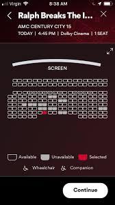 Amc Movie Theater Seating Chart Amc Stubs Rewards Program Recent Discounts
