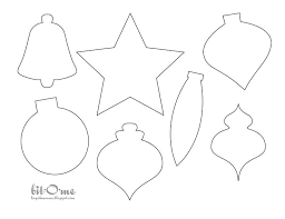Felt Christmas Ornament Patterns Simple Christmas Ornament Template Coloring Pages Felt Christmas Ornament
