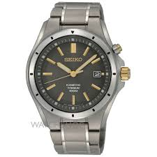 "men s seiko titanium kinetic watch ska495p1 watch shop comâ""¢ mens seiko titanium kinetic watch ska495p1"