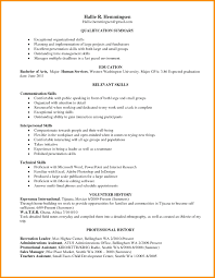 Examples Of Skills And Abilities For Resumes Resume Technical Skills Resume Examples