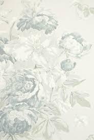 peony wallpaper blue fl wallpaper