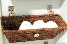 stunning bathroom wicker storage baskets for storage in bathroom wicker wall basket unit mounted