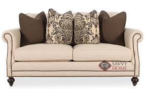 Brae by Bernhardt Fabric Loveseat by Bernhardt is Fully