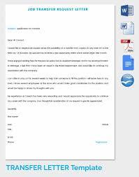 41+ Transfer Letter Templates - Pdf, Doc, Excel | Free & Premium ...