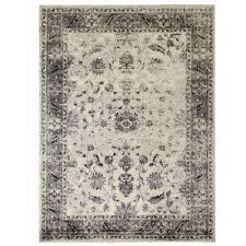 old treasures gray 8 ft x 10 ft area rug