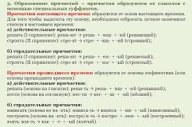 Контрольная работа по теме страдательные и действительные причастия   dist tutor info file php 446