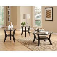 Three Piece Living Room Table Set Standard Furniture Orbit 3 Piece Coffee Table Set Reviews Wayfair