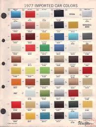 Honda Car Paint Colors Chart