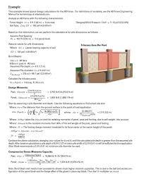 concrete fence design calcualtions triry area per post