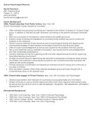Latest Resume Sample Best Of Psychology Resume Examples Administrativelawjudge