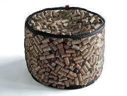 famous creative ottoman ideas wine cork storage table