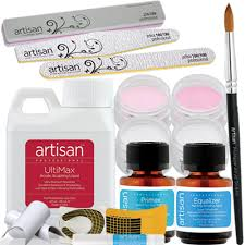 artisan acrylic nail kit professional