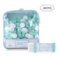 <b>100pcs</b>/<b>bag</b> Ultra-Thin Moisturizing Disposable <b>Compressed Facial</b> ...