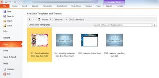 microsoft powerpoint 2010 templates how to create a calendar in powerpoint 2010