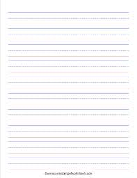 Lined Paper Template Kids Best Photos Of 24 Lined Paper Template Kindergarten Lined Writing 11