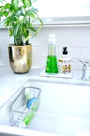 kitchen sink brush holder bathroom toothbrush sponge soap holding case storage dish racks dispenser with spong
