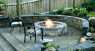 how to build outdoor fireplace with cinder blocks cement free plans