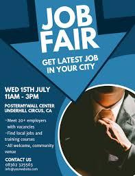 Flyer Jobs Job Fair Flyer Template Postermywall