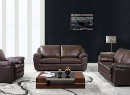 three piece living room set. abbyson living sedona 3 piece leather sofa set ~ italian three room