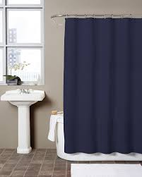 solid navy blue shower curtain. amazon.com: luxury hotel quality waffle shower curtain (72 x 72, white): home \u0026 kitchen solid navy blue e