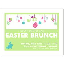 Easter Brunch Invitations Easter Invite Cards