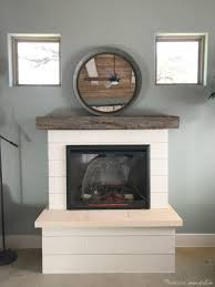 building an electric fireplace surround