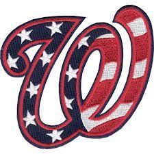 Washington Nationals 'W' Hat Logo Patch ...