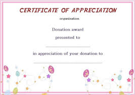 silent auction program template silent auction donation certificate template donation