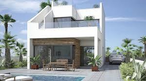 Modern contemporary Lo Romero Villas in Pilar de la Horadada