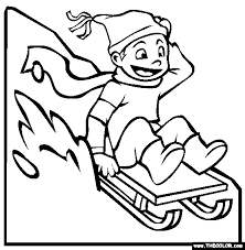 Small Picture Winter Online Coloring Pages Page 1