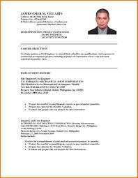 Formal Resume Format Free Download Filipino Resume Sample Lovely